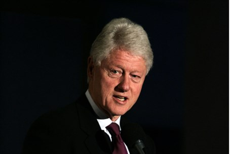 Former US Pres. Bill Clinton