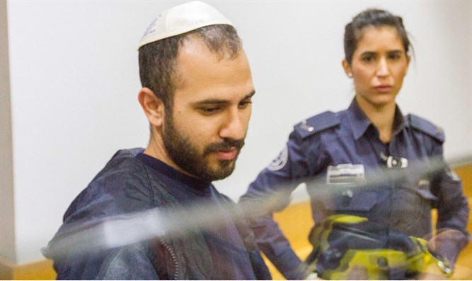 Nadav Selah, suspected 'Migdal Murderer', who allegedly killed his wife and two children